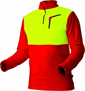 101096 60 Husky Shirt 375 Cocona 2018 rot neongelb 1