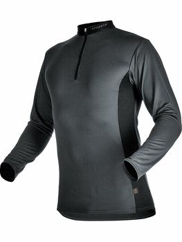 104060 90 Zipp Neck Shirt langarm