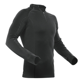 Pfanner MerinoModal Shirt langarm schwarz