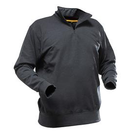 Pfanner Quarter Zipp Neck Sweater schwarz 1