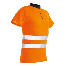 Pfanner ZippNeck Shirt kurzarm orange EN20471
