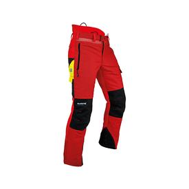 2DHY 101761 Ventilation Schnittschutzhose rot